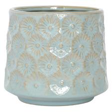 Botanica Blue Ceramic Planter