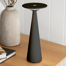 Modern Platani Aluminium Table Lamp