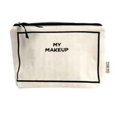 Personalised White Cotton Makeup Case