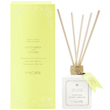 180ml Cucumber & Casaba Scented Home Library Reed Diffuser
