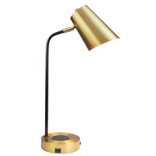 Gold Cassia Metal Table Lamp