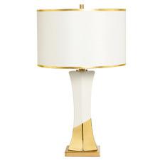 White & Gold Porcelain Table Lamp