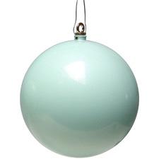 Mint Christmas Hanging Balls (Set of 4)