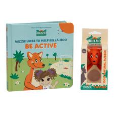 Mizzie The Kangaroo 2 Piece Mini Reader Be Active Educational Book Set