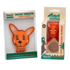 Mizzie The Kangaroo 2 Piece Mini Soothing Teether Set