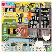 Kitchen Chicken 1000 Piece Jigsaw Puzzle