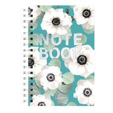 Slate Blue Spiral Notebook