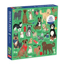 Kids' Doodle Dogs 500 Piece Jigsaw Puzzle