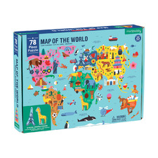 Kids' Map Of the World 78 Piece Jigsaw Puzzle