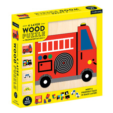Kids' Transport 4 Layer Puzzle