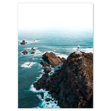 Sugarloaf Point Stretched Canvas Wall Art