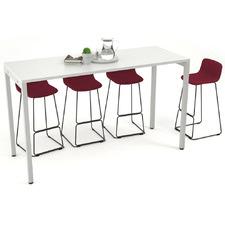 White Pennford Counter Table