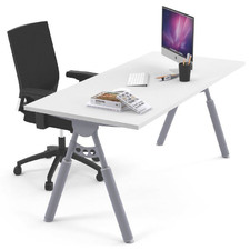 White Elbert Home Office Desk