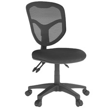 Black Perry 3-Lever Mesh Back Office Chair