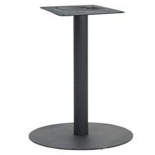 Wharf Flat Disc Metal Office Table Base