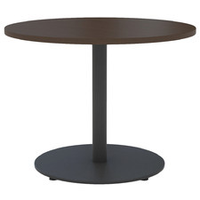 Dark Brown Round Wharf Conference Table