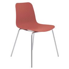 Tiziana Metal Leg Cafe Chair
