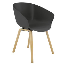 Argus Wooden Leg Visitor Chair