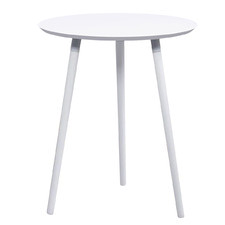 White Salathiel Cafe Table