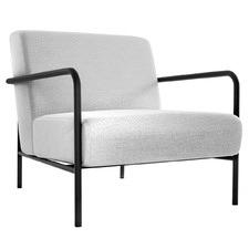 Grey Rozel Upholstered Armchair