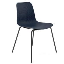 Tiziana Metal Leg Café Chair