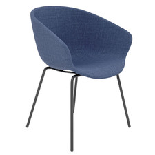 Argus Metal Leg Upholstered Visitor Chair