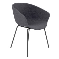 Argus Metal Leg Upholstered Visitor Chair