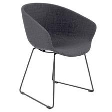 Argus Sled Base Upholstered Visitor Chair