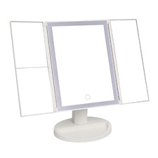Flynn Tri-Fold Make-Up Mirror