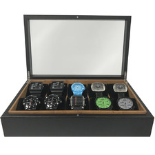 Birdseye Woodgrain Watch Box
