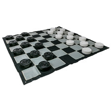 Giant Draughts Outdoor Checker Game Set