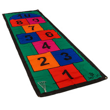 Kids' Multi-Coloured Hopscotch Mat with Pegs