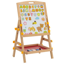 Kids' 2 Sided Magnetic Easel Set
