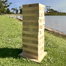 54 Piece Giant Outdoor Wooden Blocks Set