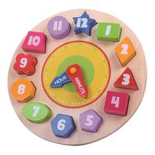 Kids' Clock Puzzle