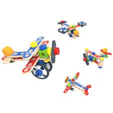 Kids' DIY Plane Set