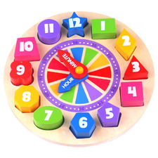 Kids' Glow-In-The-Dark Clock Puzzle