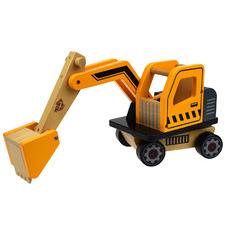 Kids' Yellow Excavator
