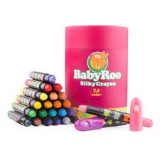 24 Piece Baby Roo Washable Crayon Set