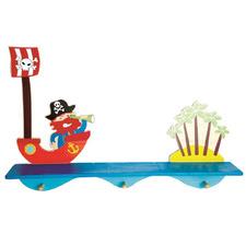 Kids'  Pirate Wooden Shelf