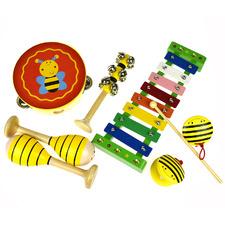 Kids'  7 Piece Bee Musical Instrument Set