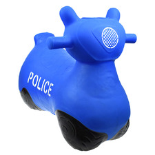 Kids' Police Inflatable Bouncy Rider