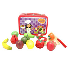 Kids' Cutting Fruit Set in Carry Case