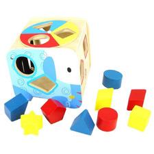 Kids' Gordon Elephant Shape Sorter Toy