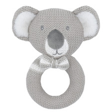 Kevin The Koala Knitted Cotton Rattle