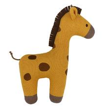 Giraffe Character Cotton Novelty Cushion