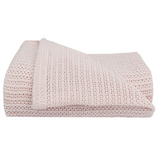 Organic Cotton Bassinet Cellular Blanket