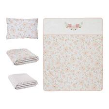 Living Textiles 4 Piece Meadow Nursery Set