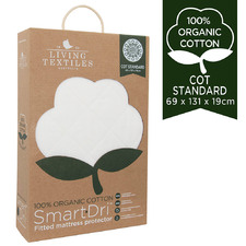 Living Textiles Waterproof Cot Mattress Protector