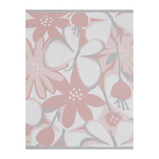 Living Textiles Meadow Cotton Knit Pram Blanket